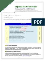 Communication-Advisory for Dec 21 -2013