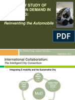 Feasibility Study for Mobility on Demand in Hong Kong