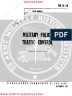 1971 US Army Vietnam War Military Police Traffic Control 169p