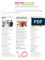 Participating Products Flyer PDF