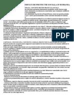 Studiu Asupra Sistemului de Protectie Sociala in Romania