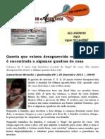 Garota que estava desaparecida em Queimadas é encontrada a algumas quadras de casa