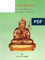 85642833 Jig Me Lingpa the Dzogchen Innermost Essence Preliminary Practice