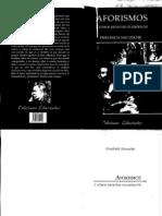 Nietzsche, Friedrich - Aforismos y Otros Escritos Filosoficos
