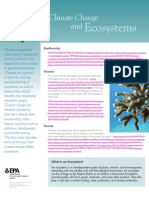 climate change ecosystems