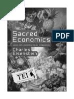 17. Charles Eisenstein - Economia sacra. Banii, darul si societatea in epoca tranzitiei - TEI - alb-negru