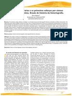 As histórias literárias e os primeiros esforços por síntese no Brasil oitocentista. Ensaio de história da historiografia. Piero Detoni