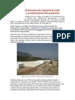 El EPS en aplicaciones de ingeniería civil
