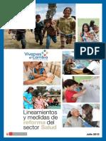 Documento Preliminar de Reforma Del Sector Salud