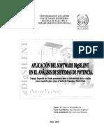 Aplicacion de DgSilent en Sistemas de Potencia 1