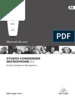 Manual Behringer C1