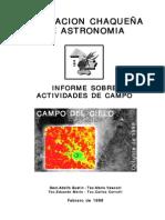 ARG_Campo Del Cielo_Actividades de Campo Oct 1998
