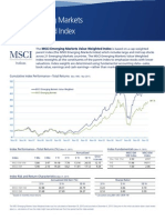 MSCI EM Value Weighted Factsheet