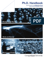 GSU MIS handbook PhD