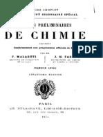 F.Malaguti - Notions préliminaires de chimie