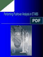 Performing Pushover Analysis in Etabs