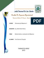 MANTENIMIENTO Y LUBRICACION DE MAQUINAS.docx