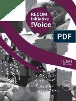 RECOM Initiative Voice - No. 17