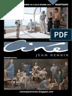 Programme Renoir Martigues Janvier 2014
