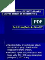 HIPERTIROID dan PENYAKIT GRAVES'