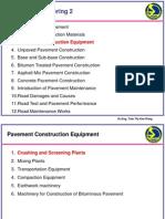 Pavement Construction Equipment