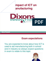 The Impact of ICT on Manufacturing
