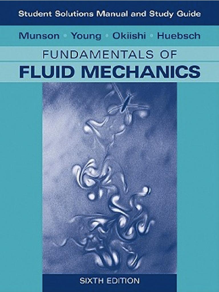 Fundamentals of fluid mechanics solutions manual fandeluxe Choice Image