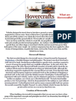 How Hovercrafts Work