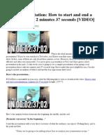 Sample Presentation_ How to Start & End a Presentation.pdf