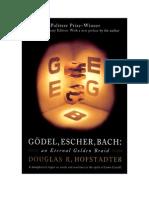 Douglas Hofstadter - Gödel, Escher, Bach - An Eternal Golden Braid