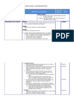 Detailed Agenda Understanding Teacher Leadership Formatted
