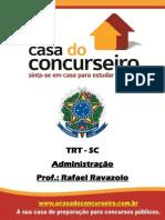 Apostila Administracao Rafael Ravazolo TRT SC