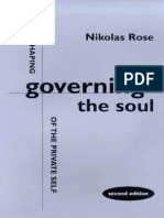 Nikolas Rose Governing the Soul the Shaping of the Private Self 1999