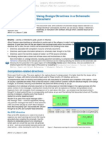 AP0151 Using Design Directives in a Schematic Document