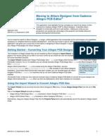 AP0165 Moving to Altium Designer From Cadence Allegro PCB Editor