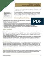 AR0124 Design Portability, Configurations and Constraints