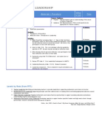 Detailed Agenda Introduction to Leadership Formatted