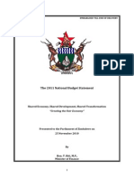 2011 Budget Statement Final