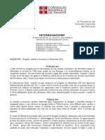 Int. Artesio-Centrale Biomasse Orbassano e Risposta Assessore