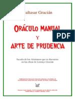 Baltasar Gracian - Oráculo manual y arte de prudencia