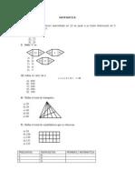 Preguntas de Matematica
