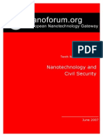 Nanotechnology and Civil Security_2007