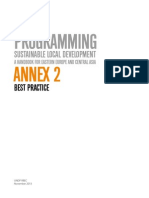 Annex 2 on Sustainable Local Development