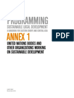 Annex 1 on Sustainable Local Development