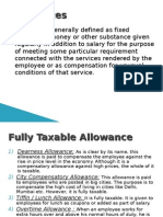 Allowances under income tax act1961