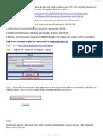 Conformation for OD Registration
