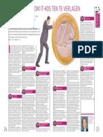 Tien Manieren Om IT-Kosten Te Besparen