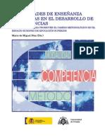Modalidades de Ensen Anza Centrada en El Desarrollo de Las Competencias