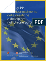 riconoscimento professioni europa