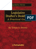 Legislative Drafter's Deskbook